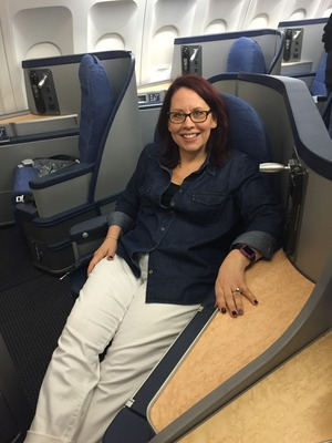 Me 1st class seat