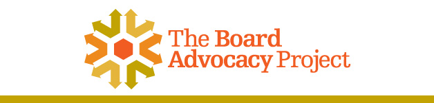 Board Advocacy Project Logo