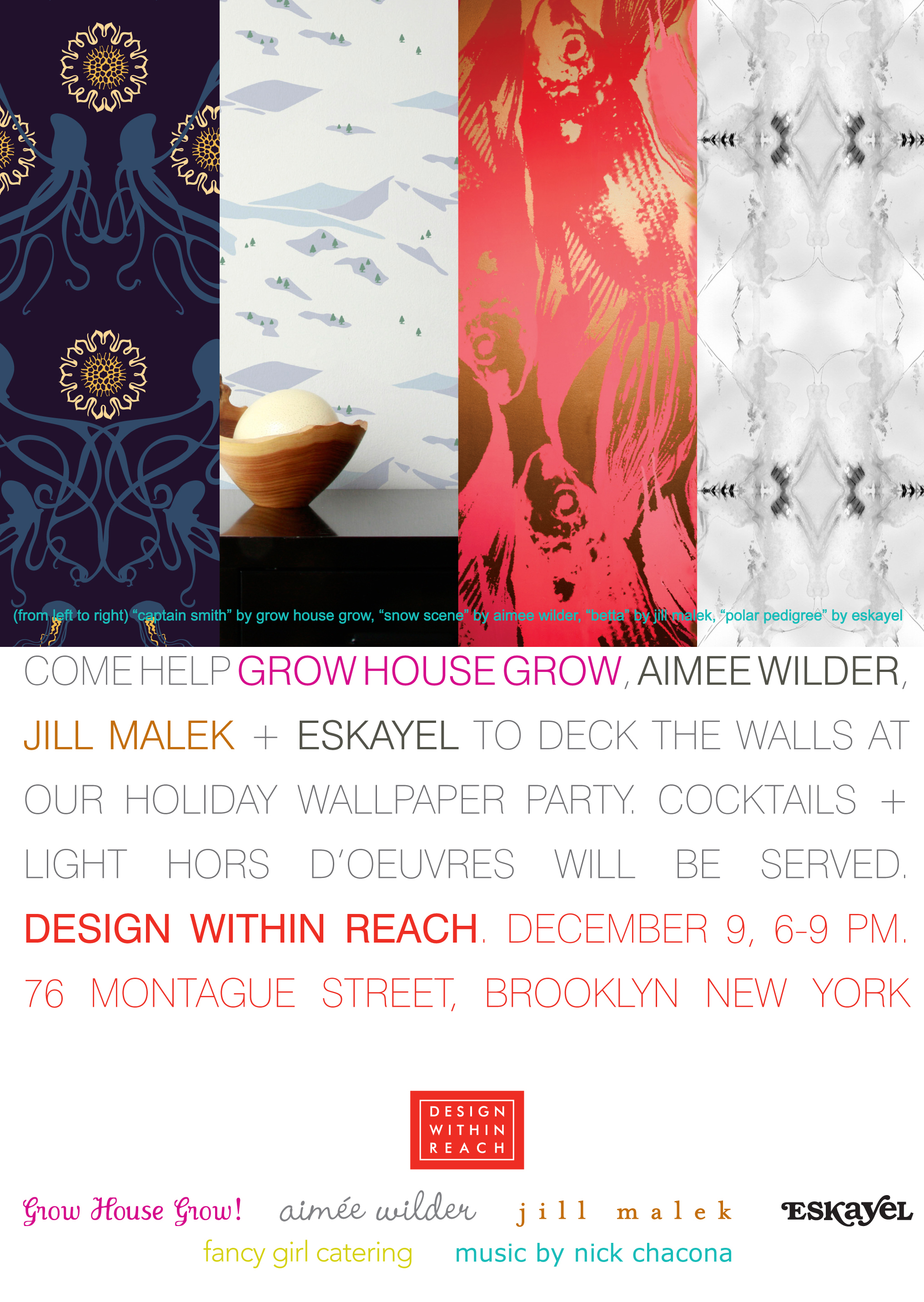 Jill Malek, Aimee Wilder, Eskayel, and Grow House Grow at Design Within Reach