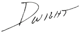 Signature - Dwight White BG