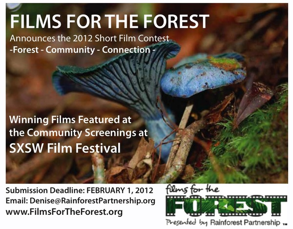 Rainforest Partnership Presents Films for the Forest