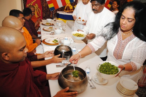 alms-giving