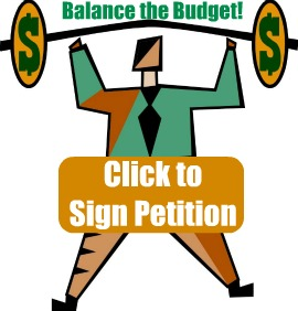 Sign Petition to pressure Congress to Balance the Budget!