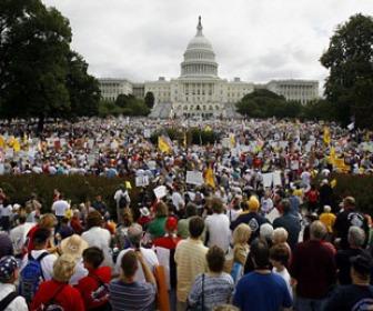 Capitol Hill Tea Party protest