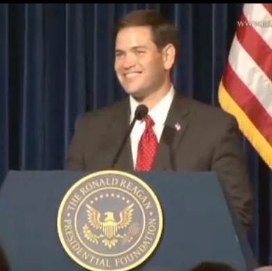 Click to watch Sen. Marco Rubio's speech at Reagan Library-Aug. 23, 2011