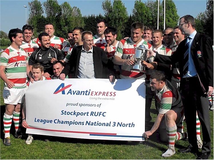 Stockport RUFC National 3 North Winners 2011 3
