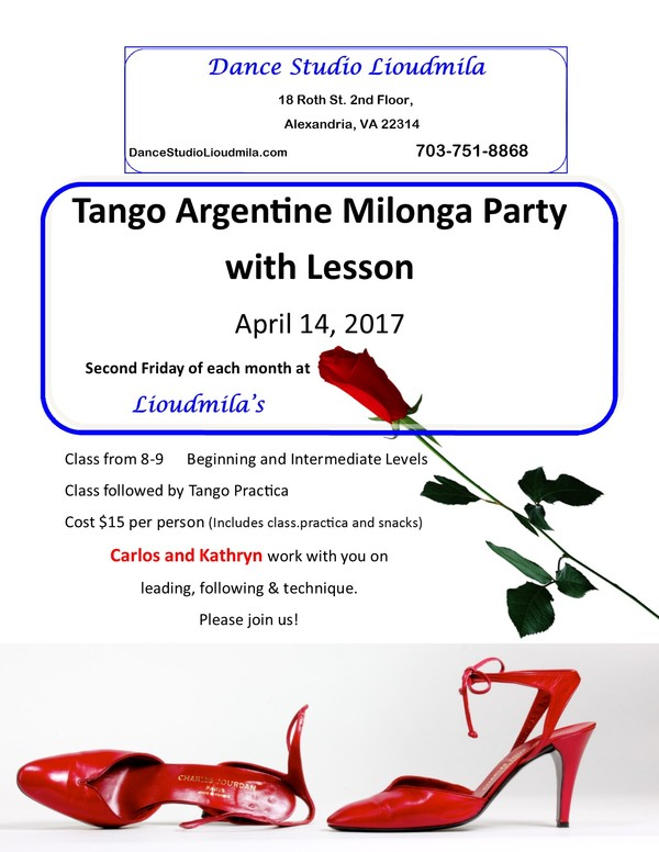 Milonga Carlos April