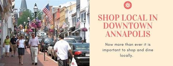 Shop Local in downtown Annapolis
