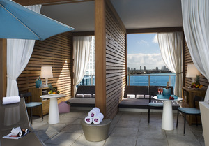 16th Floor Pool Deck- Open Air Cabana