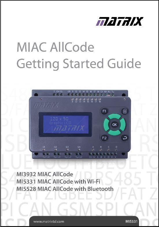 2MIAC getting started guide 2