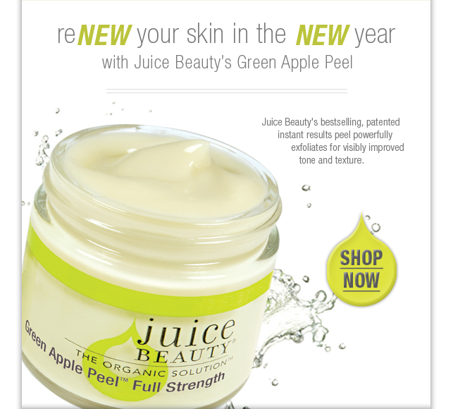 reNEW your skin in the NEW year