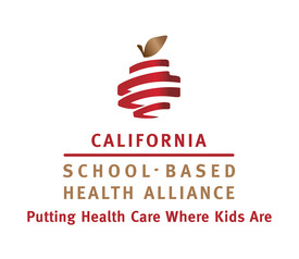 The new logo for the California School-Based Health Alliance, formerly known as CSHC