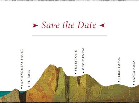 headerimage coastline savethedate Red Car Wine Event