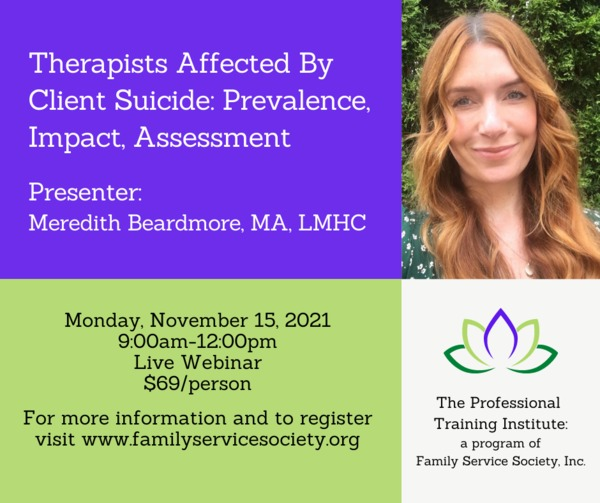 Meredith%20Beardmore%20Webinar - Family Service Society -Fall Professional Training Institute Webinars
