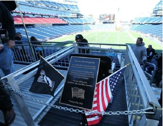 Gillette Stadium Empty Seat for POWs