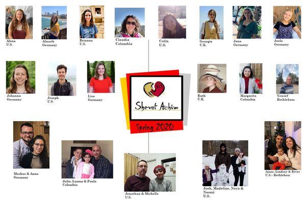 Shevet volunteers Spring 2020