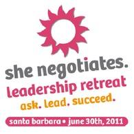 she negotiates logo