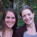 Julie and Sarah