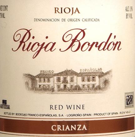 bordon  label