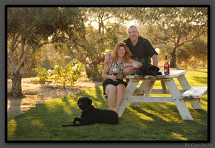Rick, Jennifer, and our heavenly fur babies