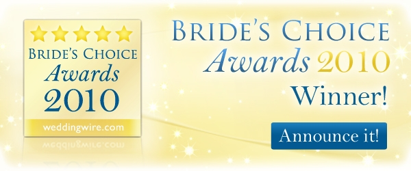 2010 Bride's Choice Awards Winner