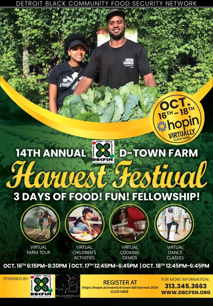 DTown Virtual Harvest Festival 2020