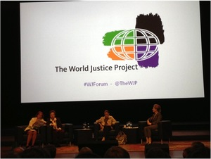 Justice Ruth Ginsberg at the World Justice Project