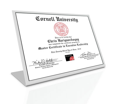 master or masters of business administration on resume
