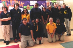 HMTCA Students Celebrate Veterans Day for web_front page