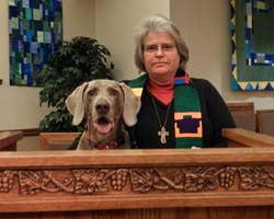 Pastor Michelle and Goose_web